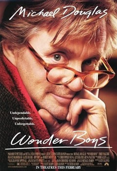 Wonder Boys movie poster with Michael Douglas